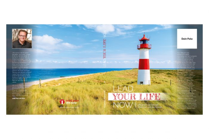 Lead Your Life Now - Cover personalisiert