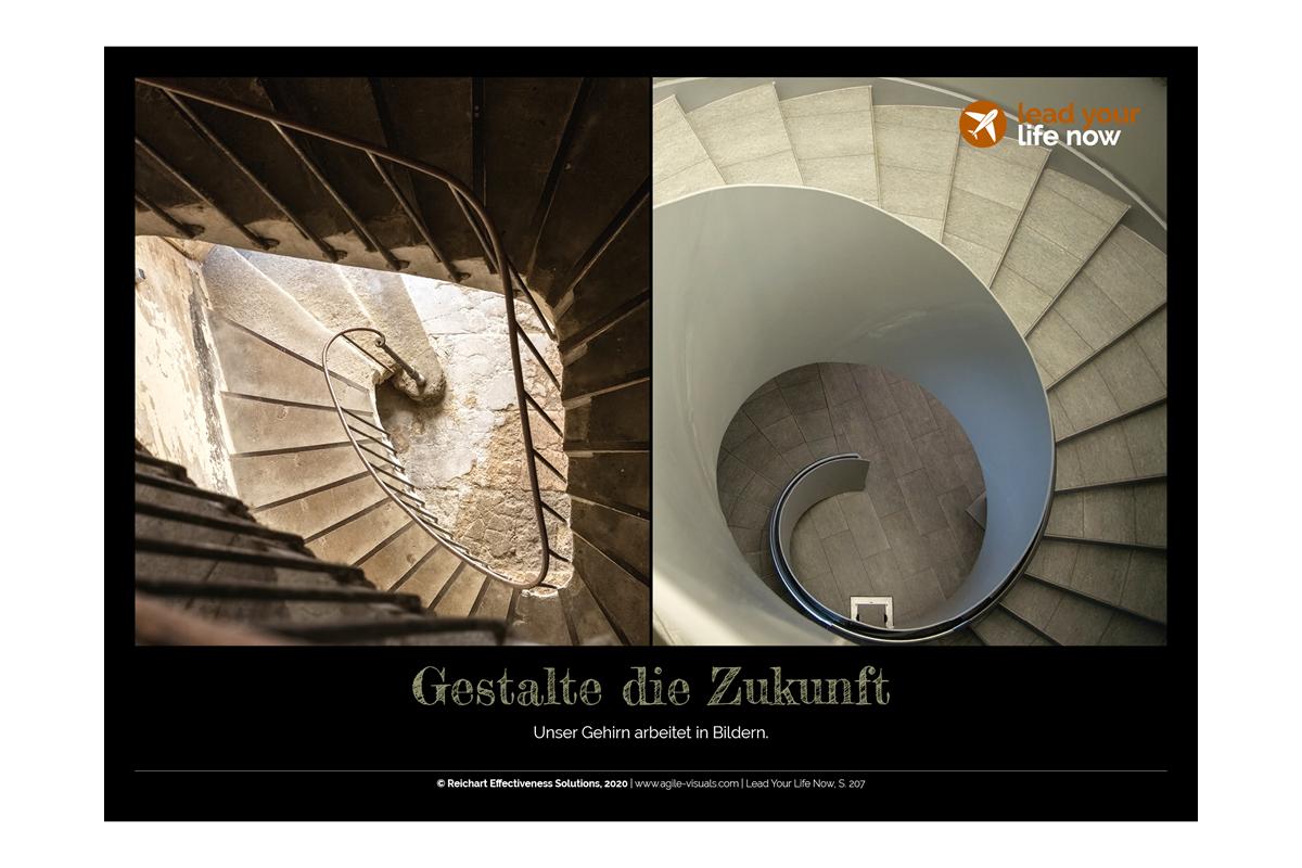 Agile Visuals Postkarte 9