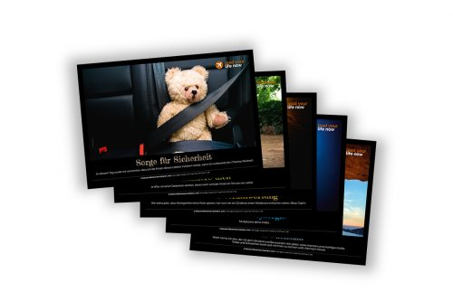 Agile Visuals Gedankenbilder Postkarten